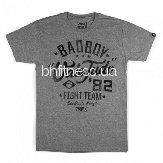 Футболка Bad Boy Vale Tudo Grey/Black 210414